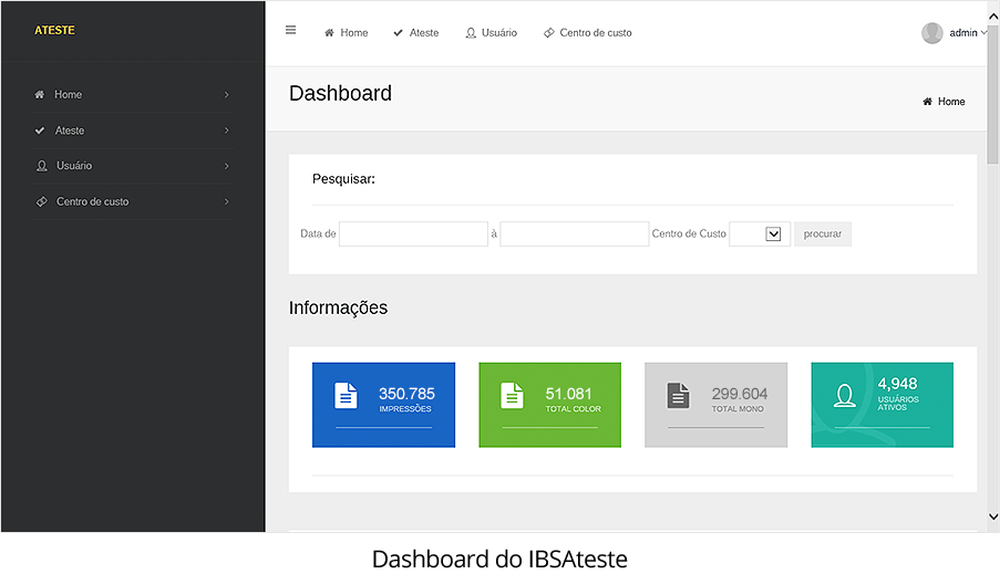 papercut-ibsateste-dashboard